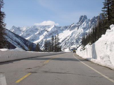 SR 20 North Cascades Highway reopened